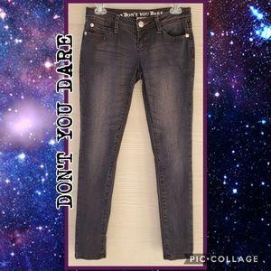 Dusty Purple Skinny Fit Jeans
